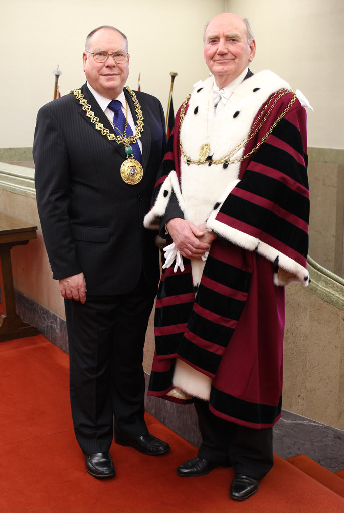 Lord Provost, Bob Duncan L.L. &amp Lord Dean of Guild, D. Howard Price