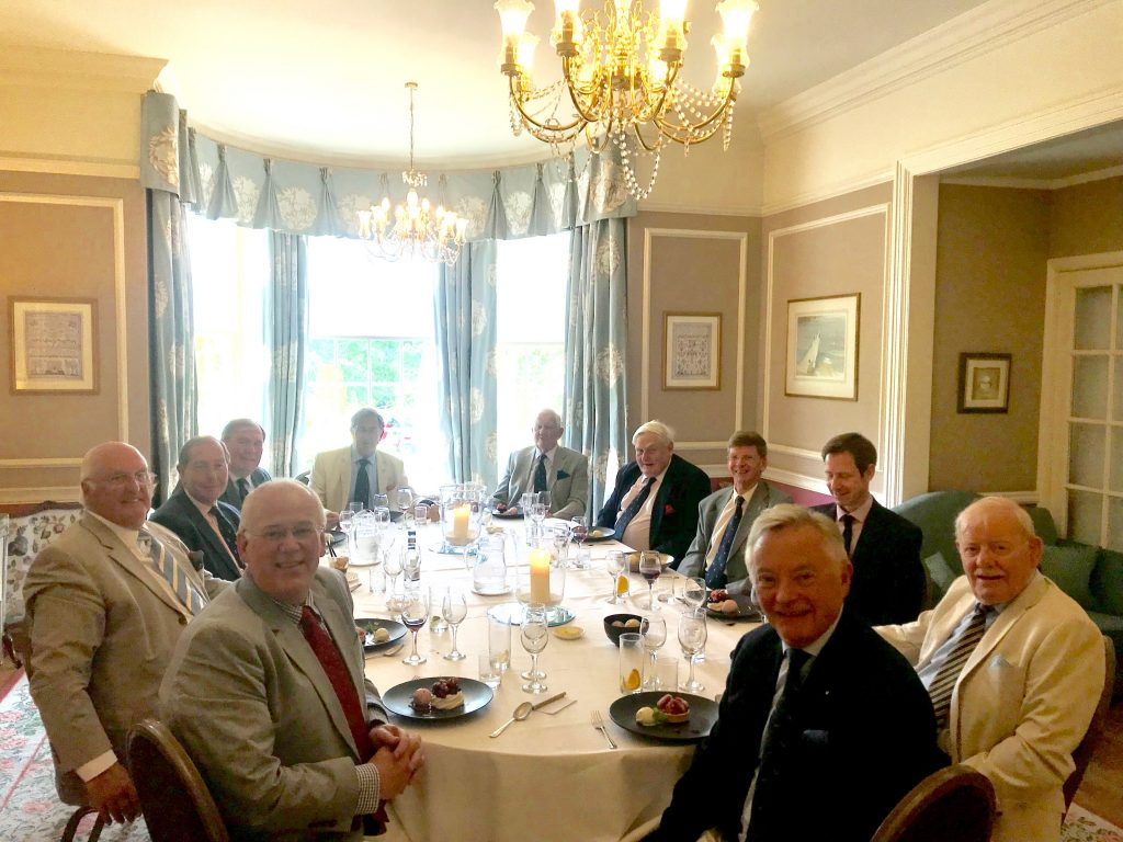 The assessors met for lunch in the delightful surroundings of Rufflets Hotel, St Andrew or Friday 5th July.